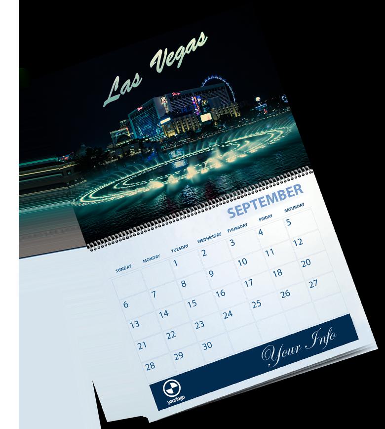 Calendar caligraphix